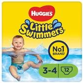 Huggies zwemluiers maat 3-4 voorkant