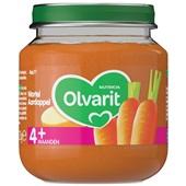 Olvarit baby/peuter maaltijd wortel en aardappel voorkant