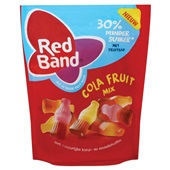 Red Band snoep cola fruit mix  voorkant