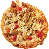 mini pizza shoarma voorkant