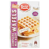 Home Made wafelmix voorkant