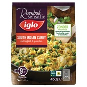 Iglo roerbaksensatie indian curry voorkant