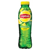 Lipton green lemon voorkant