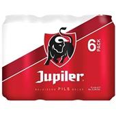 Jupiler Bier Blik 6X44 Cl voorkant