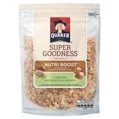 Quaker granola nutri boost nuts voorkant