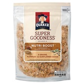 Quaker granola nutri boost seeds voorkant