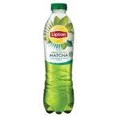 Lipton ice tea matcha cucumber mint voorkant