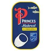 Princes Makreelfilet In Zonnebloemolie voorkant