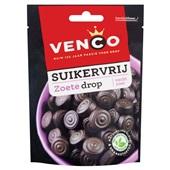 Venco drop zoete drop suikervrij voorkant