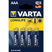 Varta batterijen AAA longlife voorkant