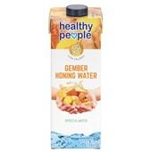 Healthy People gember honing water voorkant