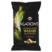 Lay's Sensations wasabi-ginger voorkant