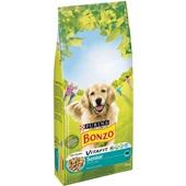 Bonzo senior hondenbrokken menu met kip en groenten voorkant