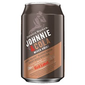Johnnie Walker whisky cola voorkant