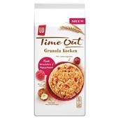 Lu Time Out granola rode vruchten hazelnoot voorkant