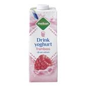 Melkan drinkyoghurt framboos voorkant
