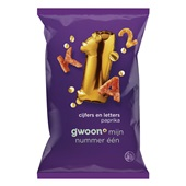 Gwoon chips cijfers & letters voorkant