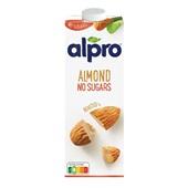 Alpro Drink Amandel Ongezoet voorkant