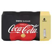 Coca Cola vanilla voorkant
