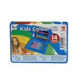 Clown kleurkoffer kinder  kleurkoffer voorkant