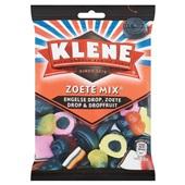 Klene Zoete Mix Engelse drop, Zoete drop en Dropfruit voorkant