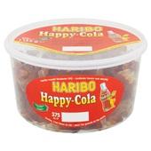 Haribo Wijngum Cola Flesjes voorkant