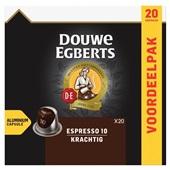 Douwe Egberts koffiecapsules espresso original voorkant