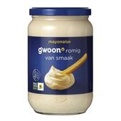 Gwoon mayonaise voorkant