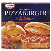 Dr. Oetker pizzaburger salami voorkant