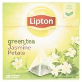 Lipton green tea jasmin pentals voorkant