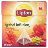 Lipton herbal infusion rooibos voorkant