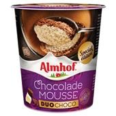 Almhof chocolademousse duo  voorkant