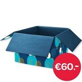 Kerst pakket €60,- voorkant