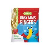 Sore baby mais fingers aardbei voorkant