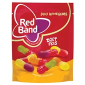 Red Band duo winegums zoet fris voorkant