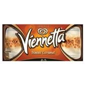 Ola viennetta biscuit caramel voorkant