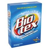 Biotex voorwas & waskrachtversterker achterkant