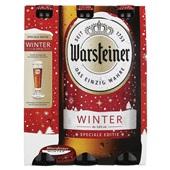 Warsteiner speciaalbier winterbier fles 6x33cl voorkant