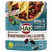 Hak kidneybonen chili voorkant