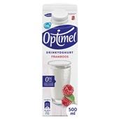 Optimel Drinkyoghurt Framboos voorkant