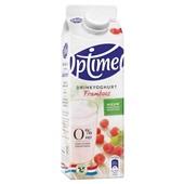 Optimel Drinkyoghurt Framboos achterkant