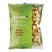 Gwoon salade croutons naturel voorkant