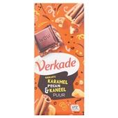 Verkade puur krokant karamel pecan & kaneel  voorkant