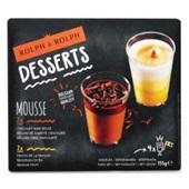 Rolph en Rolph mini desserts Belgische zwarte chocolade & passievrucht voorkant