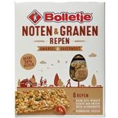 Bolletje graanrepen noten en granen amandel & havermout voorkant