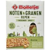 Bolletje graanrepen noten en granen hazelnoot & spelt voorkant
