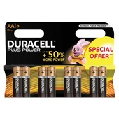 Duracell plus power AA voorkant