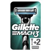 Gillette mach 3 scheermesjes starter kit achterkant