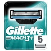 Gillette scheermesjes mach 3 achterkant