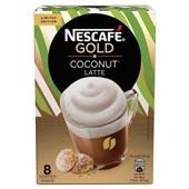 Nescafé coconut latte gold voorkant